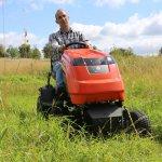 Zero Turn Mower Field