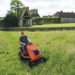 Ariens sit-lawn mower-HighGrassMulching