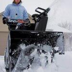 sno-tek snow blower black
