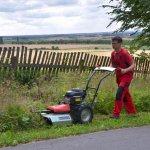 vari f580 max man mowing gras 2