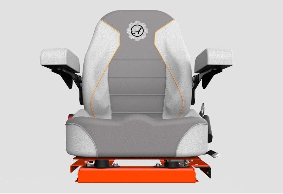 Ariens Zenith E geveerde stoel op gewicht instelbaar